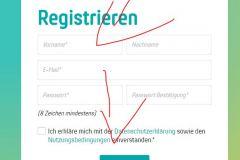 Registrieren bei PollUnit