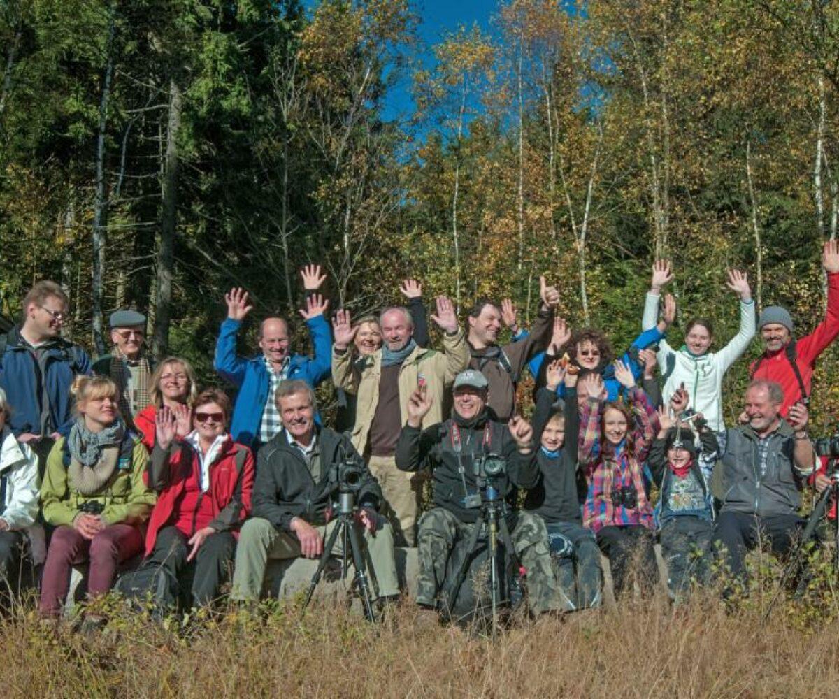 Fotoexkursion zum Hochfels, Böhmerwaldturm, Bügellohe, Plöß